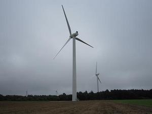 風力発電 畑